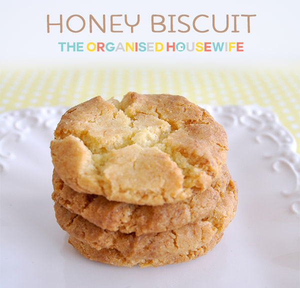Honey Biscuits | Recipe | The Organised Housewife
