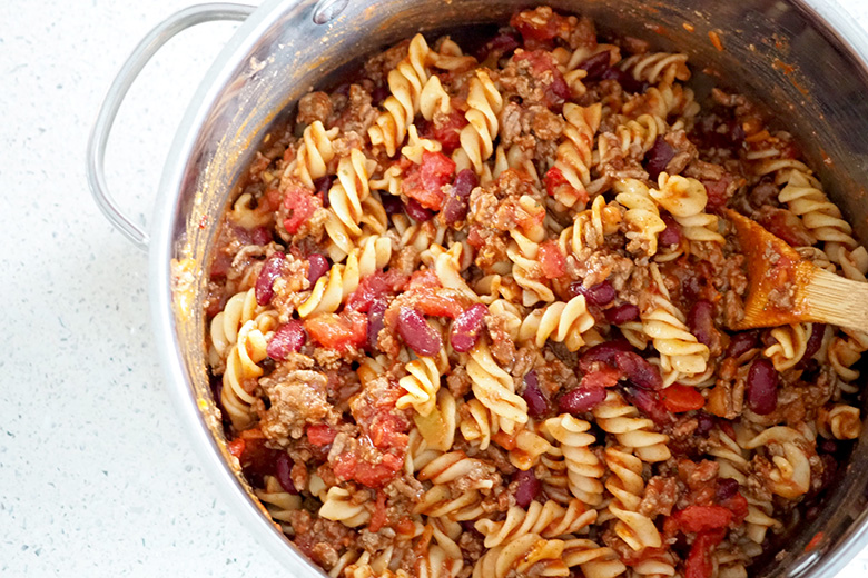 We love Mexican dishes in our family and this Mexican Pasta Bake is a quick and easy weeknight dinner that all the family will enjoy.