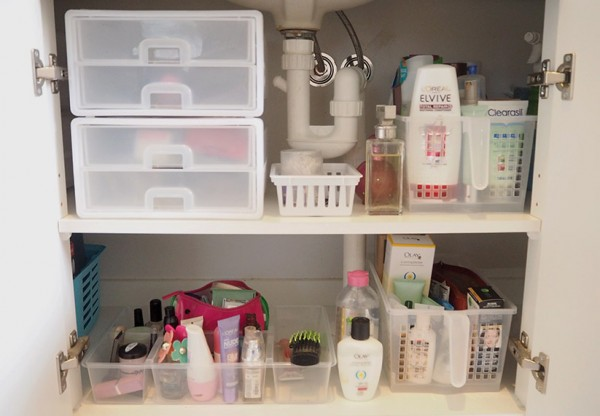 Bathroom Storage And Organisers 7 tips to organise a bathroom cupboard | the organised housewife