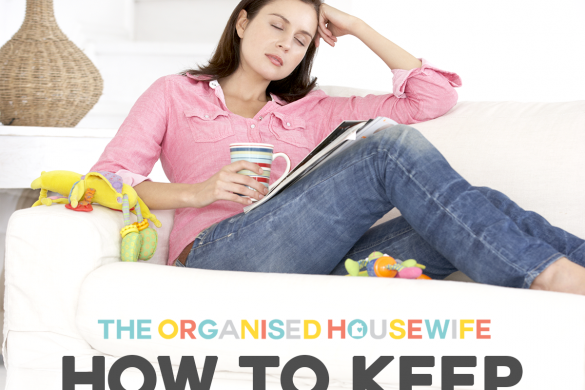 how to keep the house tidy when mum needs a sick day