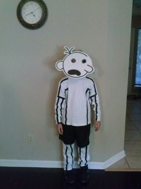 Book week costume idea - diary of a wimpy kid