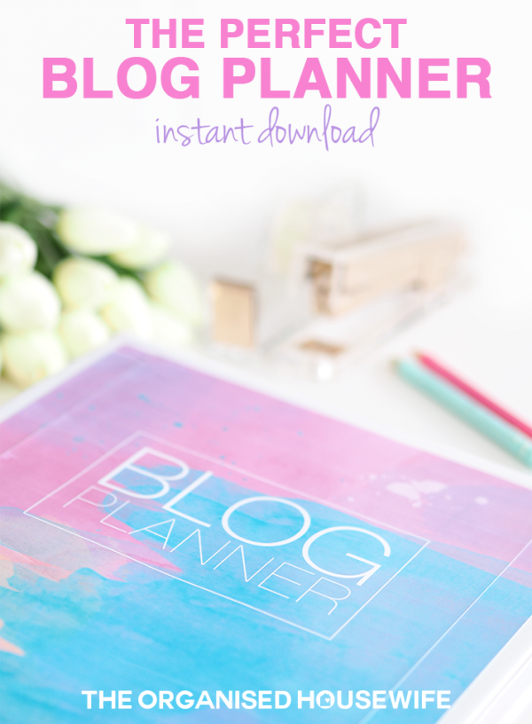 the perfect blog planner