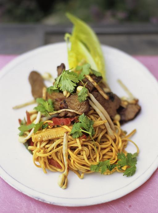 Beef and Noodle Stirfry