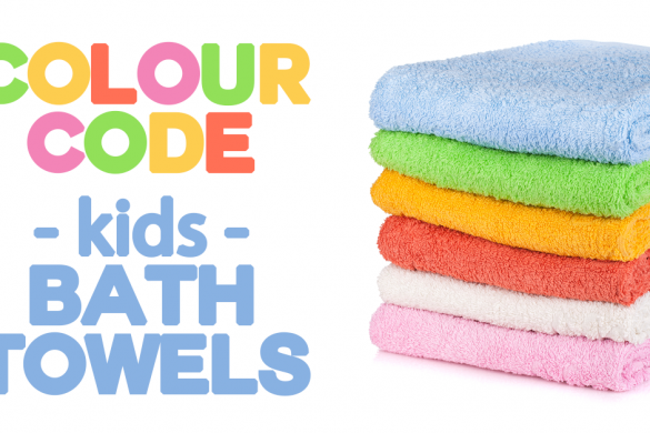 colour code kids bath towels FB 2