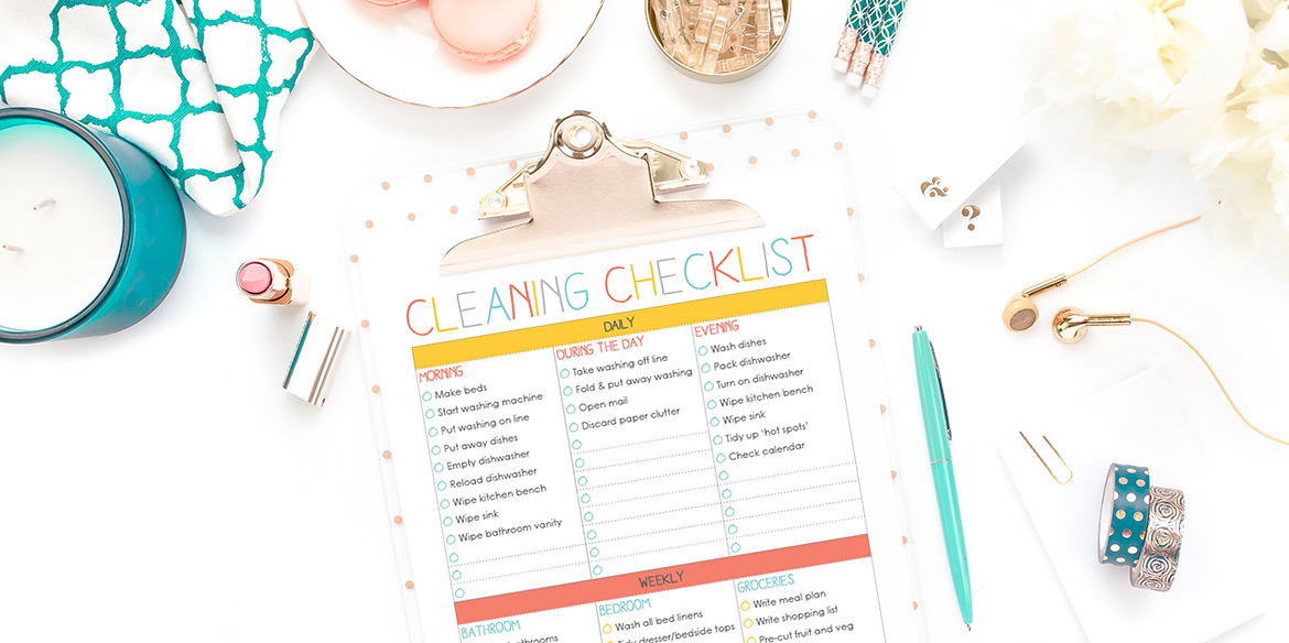 the-organised-housewife-clenaing-checklist-2016-1