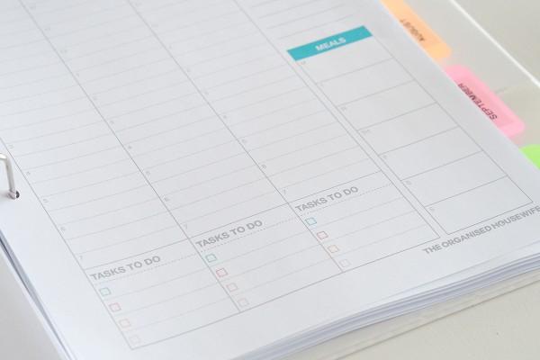 2016 Weekly Planner Printable