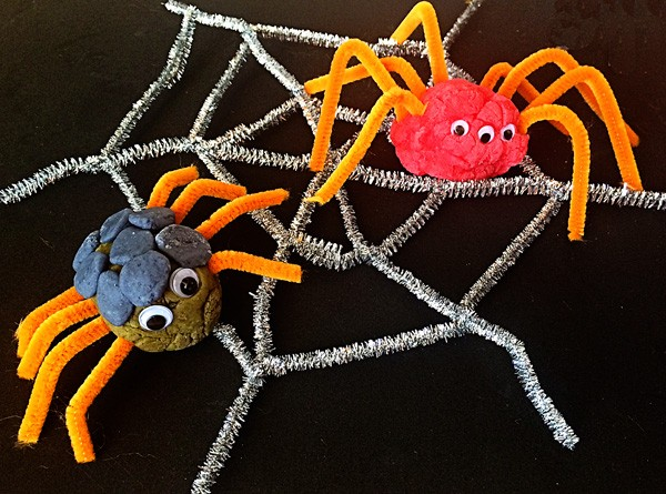 An-invitation-to-create_-Playdough-spiders