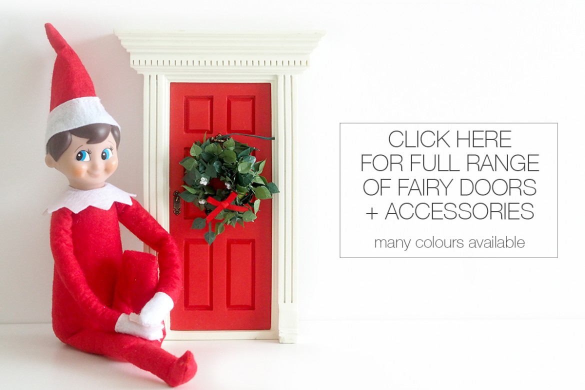 A guide to the Elf on the Shelf Fairy Door