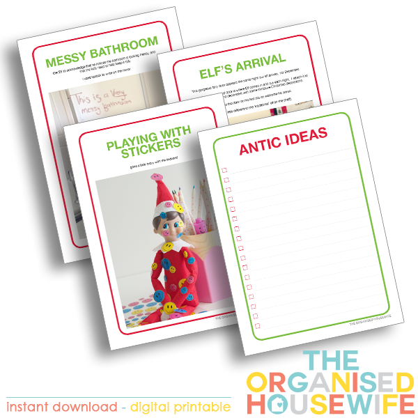 elf on the shelf planner antic ideas