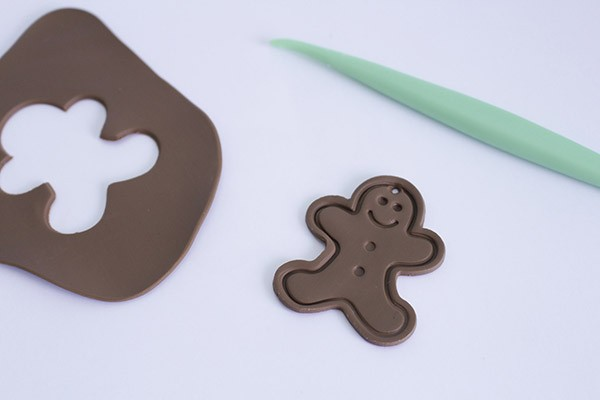 fimo gingerbread men
