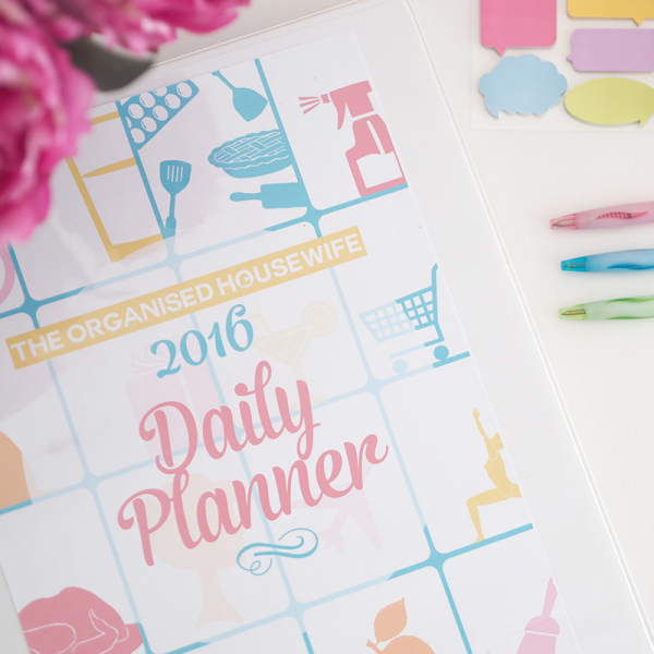2016 Daily Planner Cover