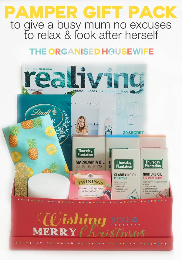 Diy pamper gift pack the organised housewife christmas pamper gift pack 5 solutioingenieria Gallery