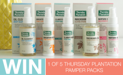 Win Thursday Plantation Pamper Pack HOME