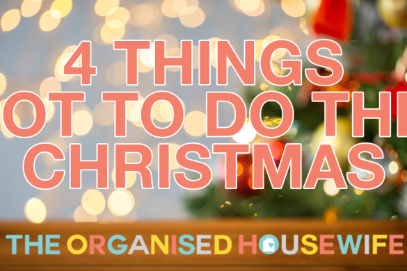 4 things not to do this christmas