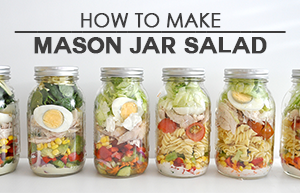how to make mason jar salad 300