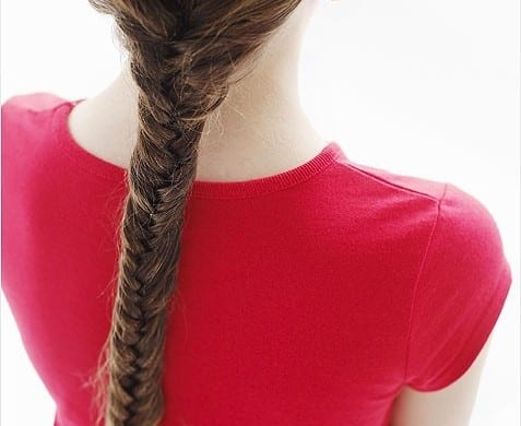 Girls Fishtail Braid 1