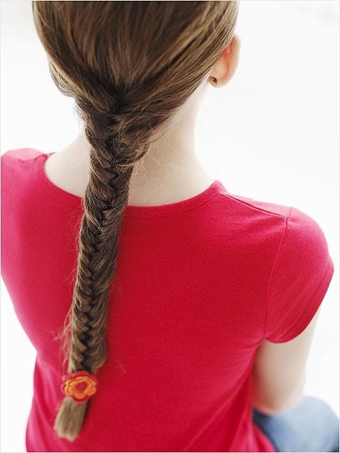 fishtail hair style school hairstyle fishtail braid the organised 1662