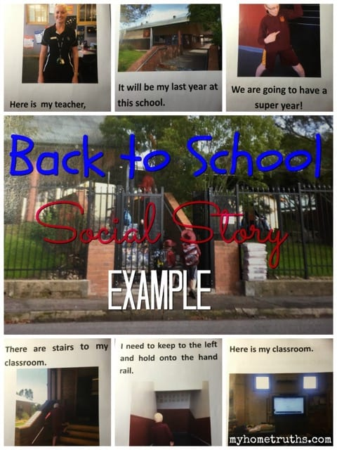 Social Story Example