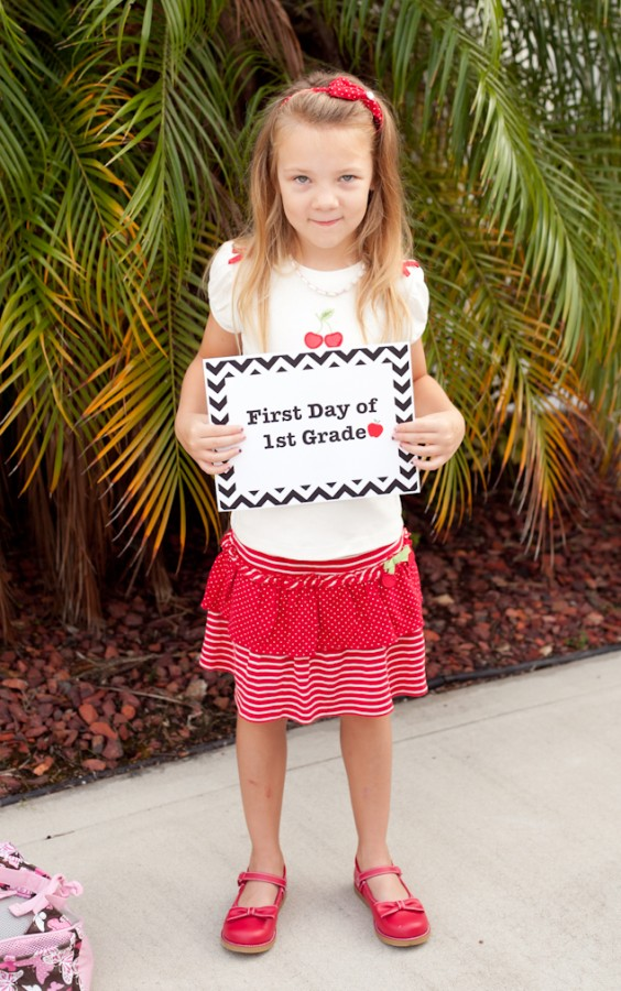 FREE First Day of School Printables 13