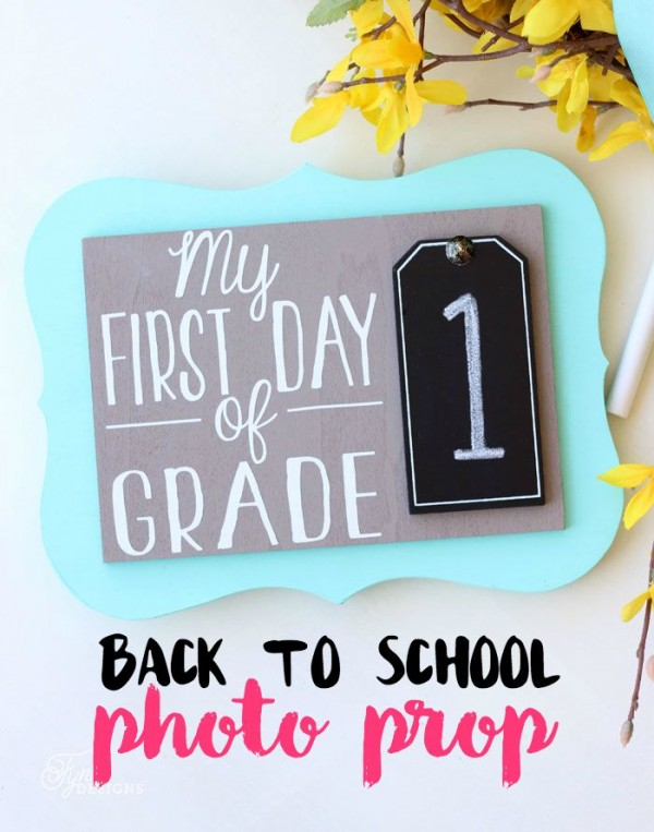 FREE First Day of School Printables 5