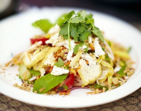 Jamie Olivers Chicken & Mango Thai Salad