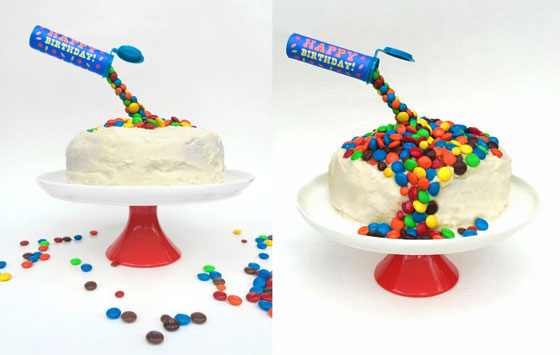 Cake Decorating Ideas With Smarties : How to make a Gravity Cake - The Organised Housewife