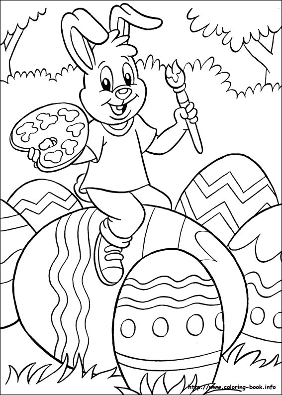 A selection of fun printable Easter colouring pages for all ages to print and enjoy. The kids will have fun colouring these in.