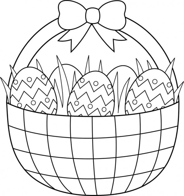 printable coloring pages easter eggs - photo#38