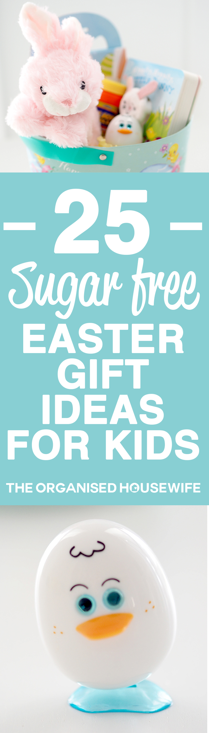 25 sugar free easter gift ideas for kids the organised housewife ive created a litte sugar free easter basket for my nieces to give negle Image collections