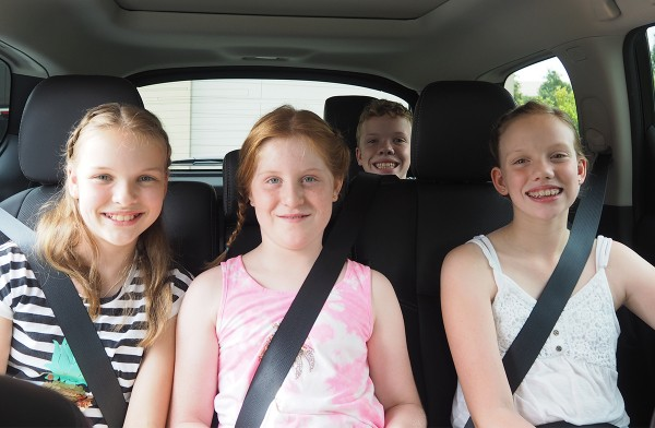 I enjoyed the time in the car with the kids when they were really little, we would sing and laugh and then they would sleep. But as kids get older many get louder, fight and argue. I'll share some of my strategies to keep kids happy in the car.