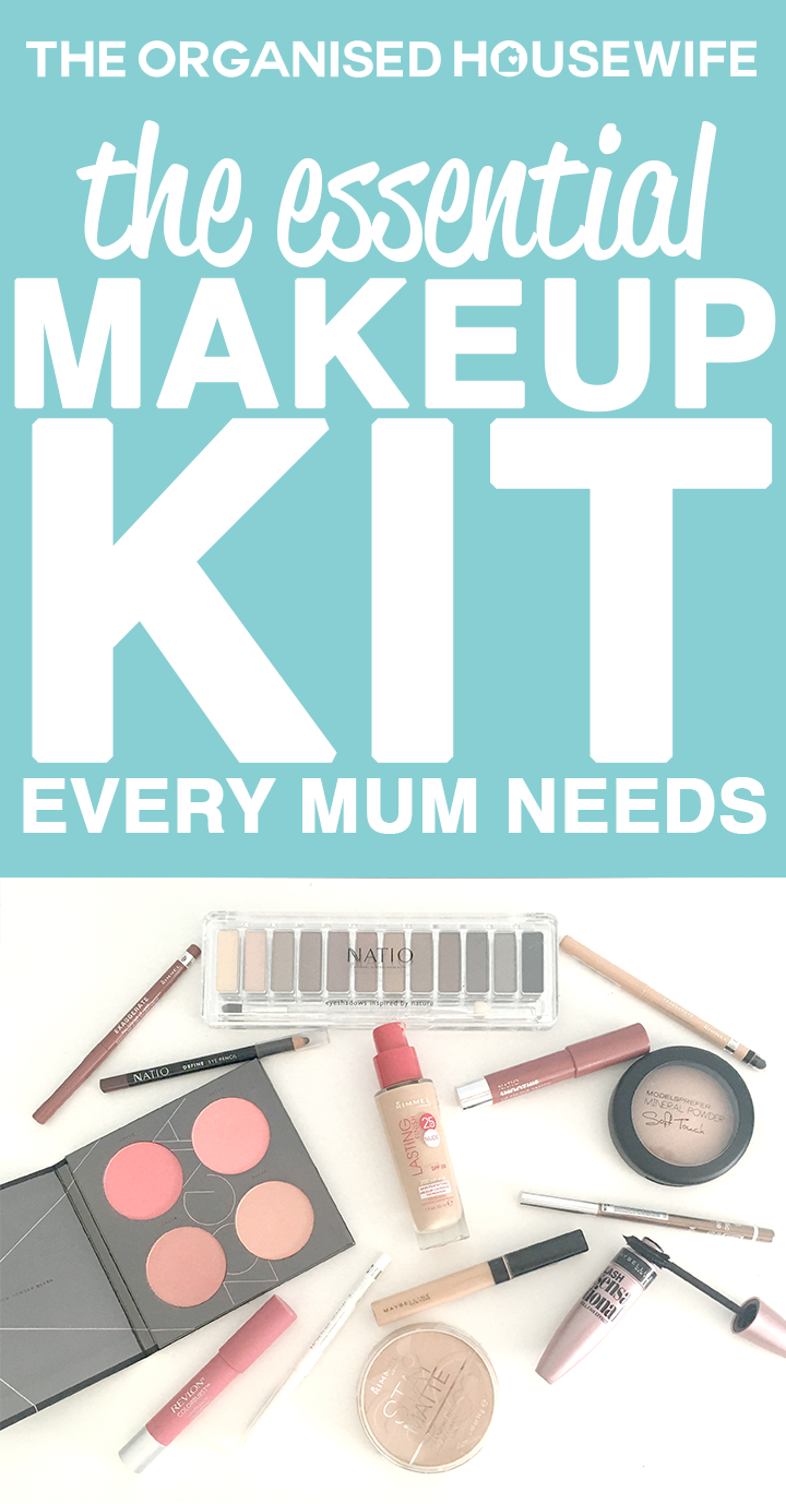 A budget friendly makeup kit that includes all the everyday makeup essentials, to give busy mums a a flawless face.