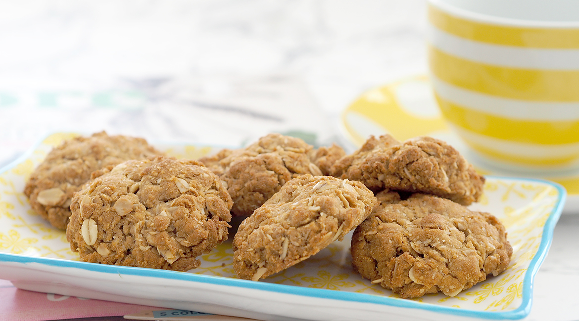 Celebrate Australia Day with Anzac Biscuits