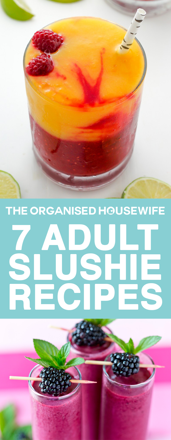 Adult slushie recipes are deliciously deceiving, they are sweet, fruity and ooh so refreshing.