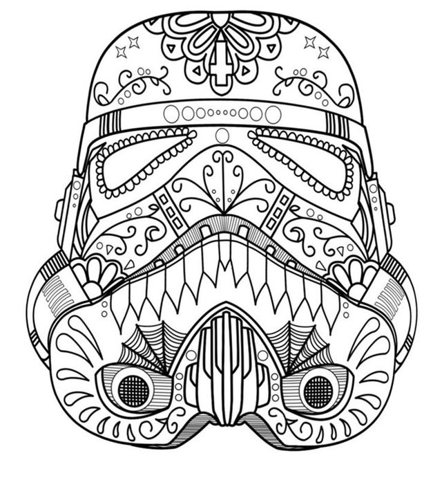 creative coloring pages for teens - photo#34