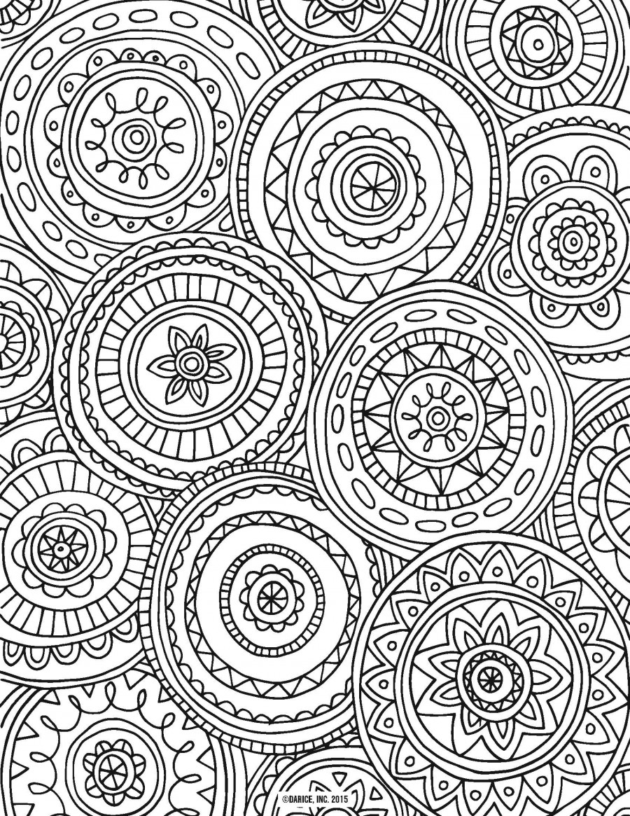 Get Creative With These Abstract Adult Colouring Pages Which Are Also Fun For The Teenagers