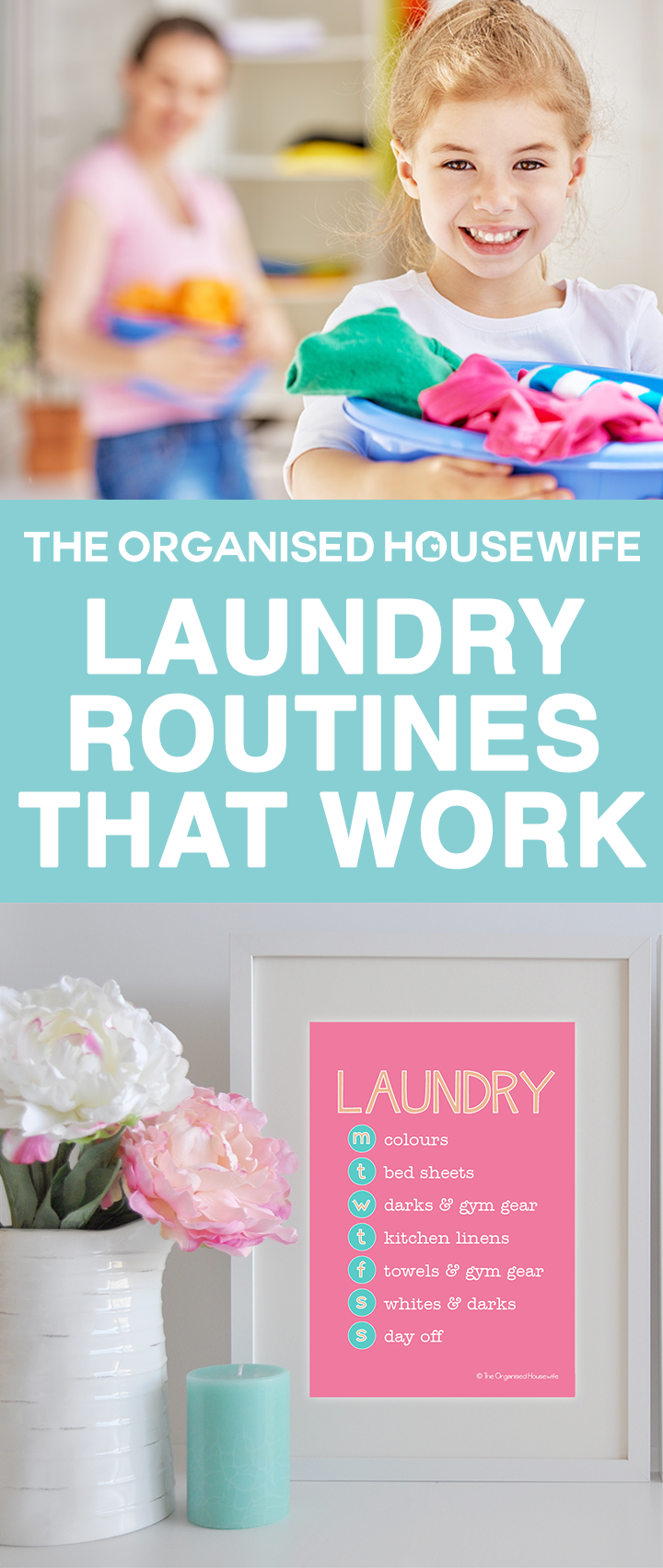 The laundry can easily get out of control, with piles of dirty clothes piling up for the moment you have time to spend on washing. I can think of better things to do than a day of washing clothes! Creating a system for your laundry can help this tedious task become more manageable.