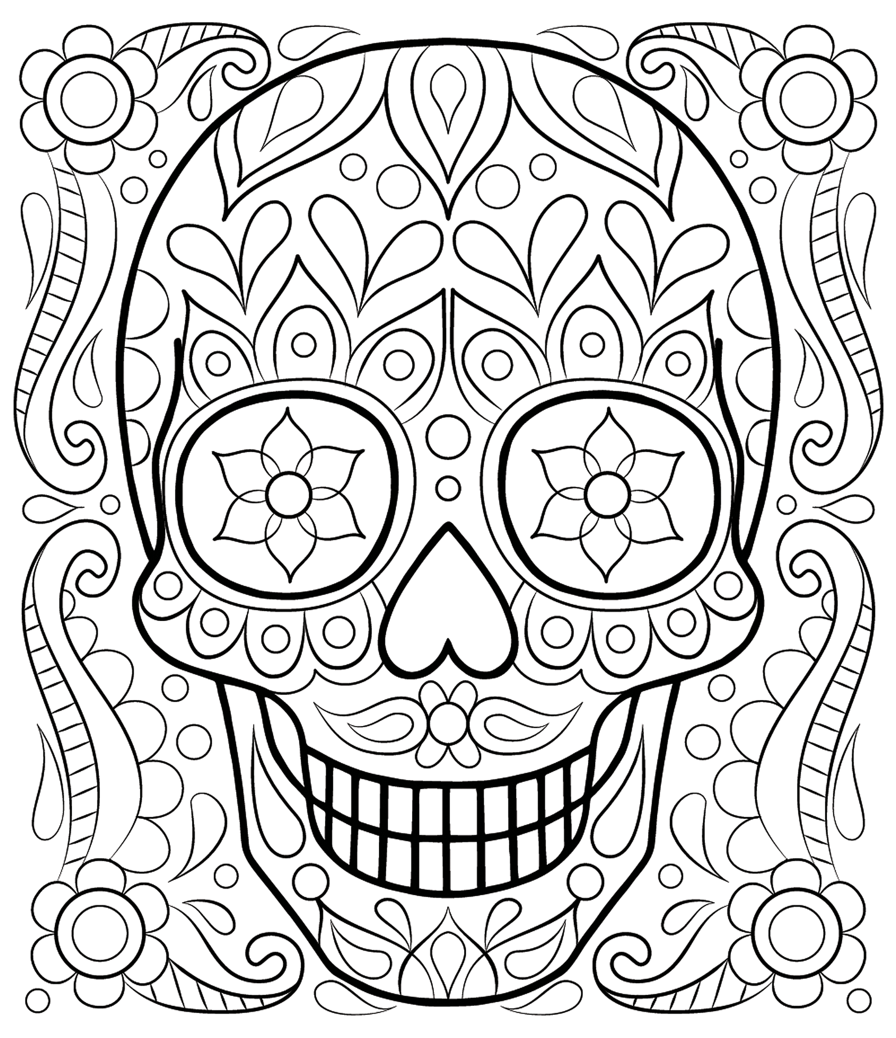 aduly coloring pages - photo#20