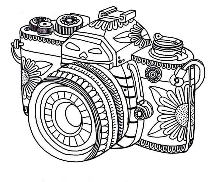 creative coloring pages for teens - photo#33