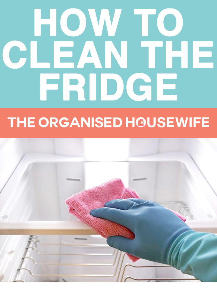 Keeping your fridge clean will keep your food fresh, follow my checklist on how to clean the fridge.