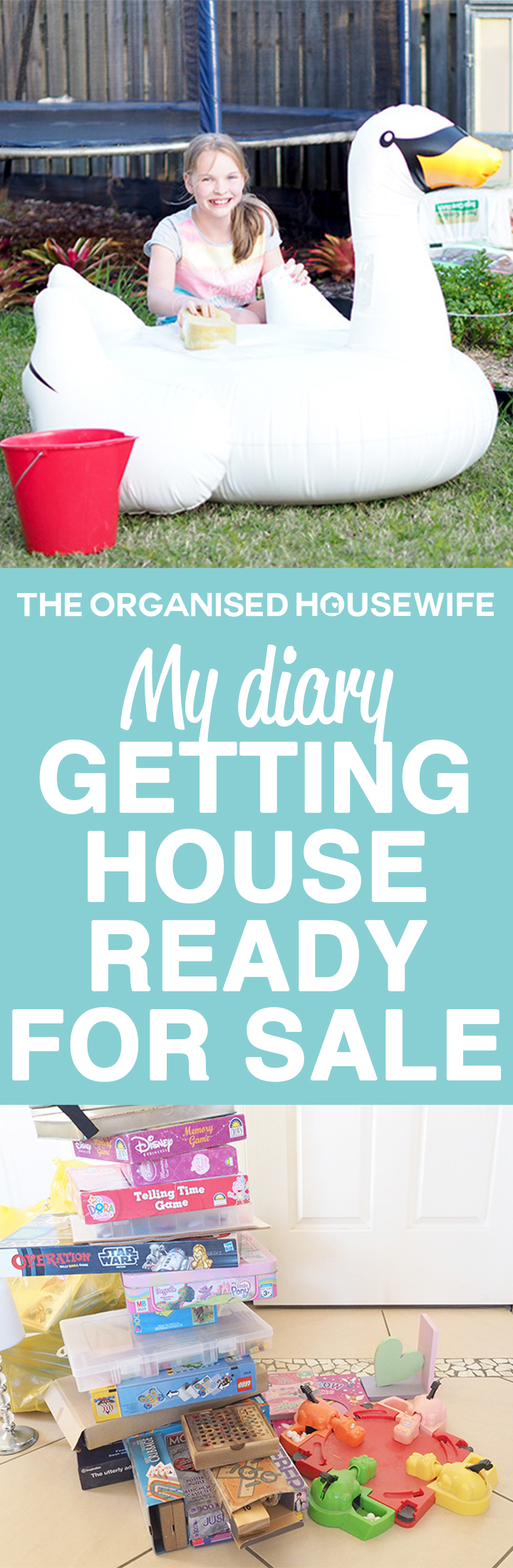 This is my little diary of the time and effort we went to to get our house ready for sale. We managed to get it ready within a week, it was worth it as the house was presented really nicely for potential buyers.