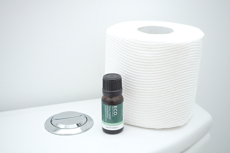 Eucalyptus essential oil for fresh clean bathroom