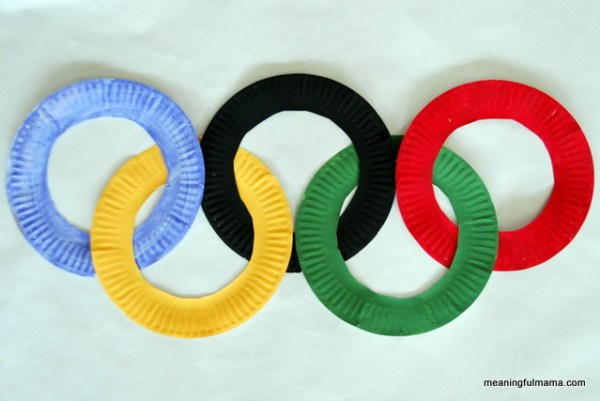 To get into the spirit of the upcoming games, encourage your kids to craft their own torch or create some of these fun Olympic craft and activities.