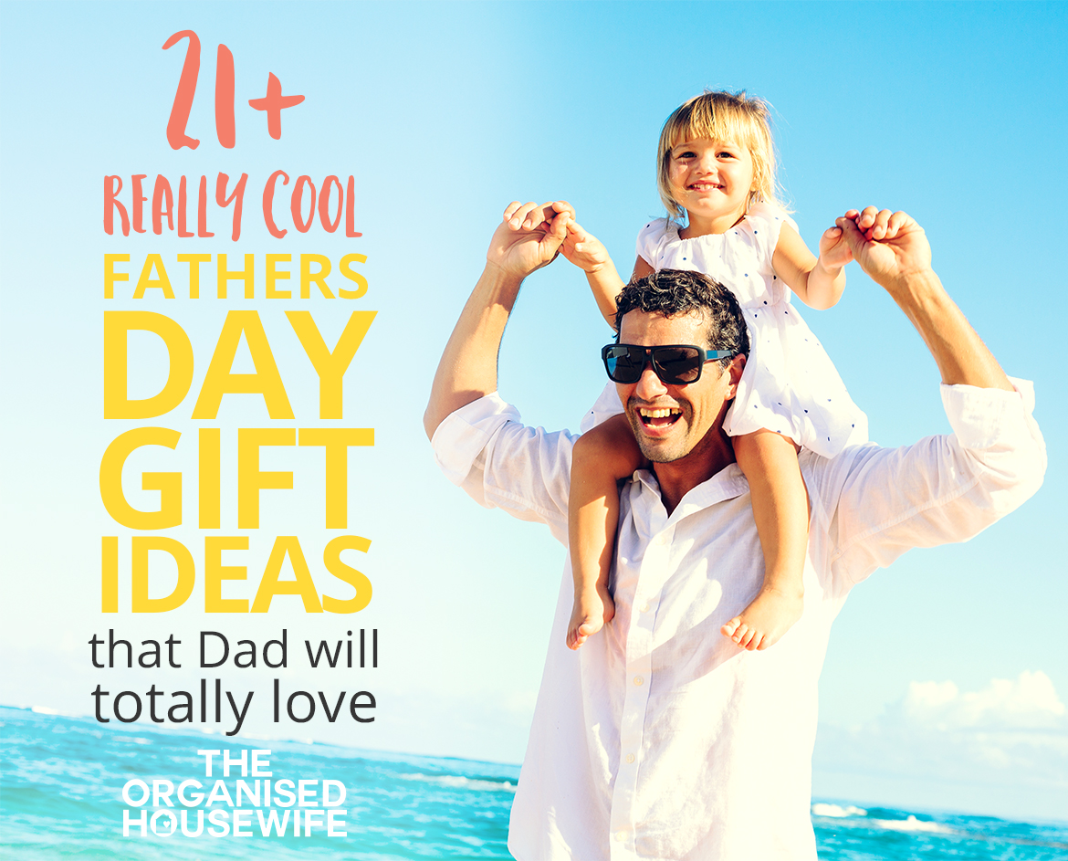 Loads of really cool Fathers Day Gift Ideas that dad will totally have fun with. This guide has some unique and quirky gift ideas.