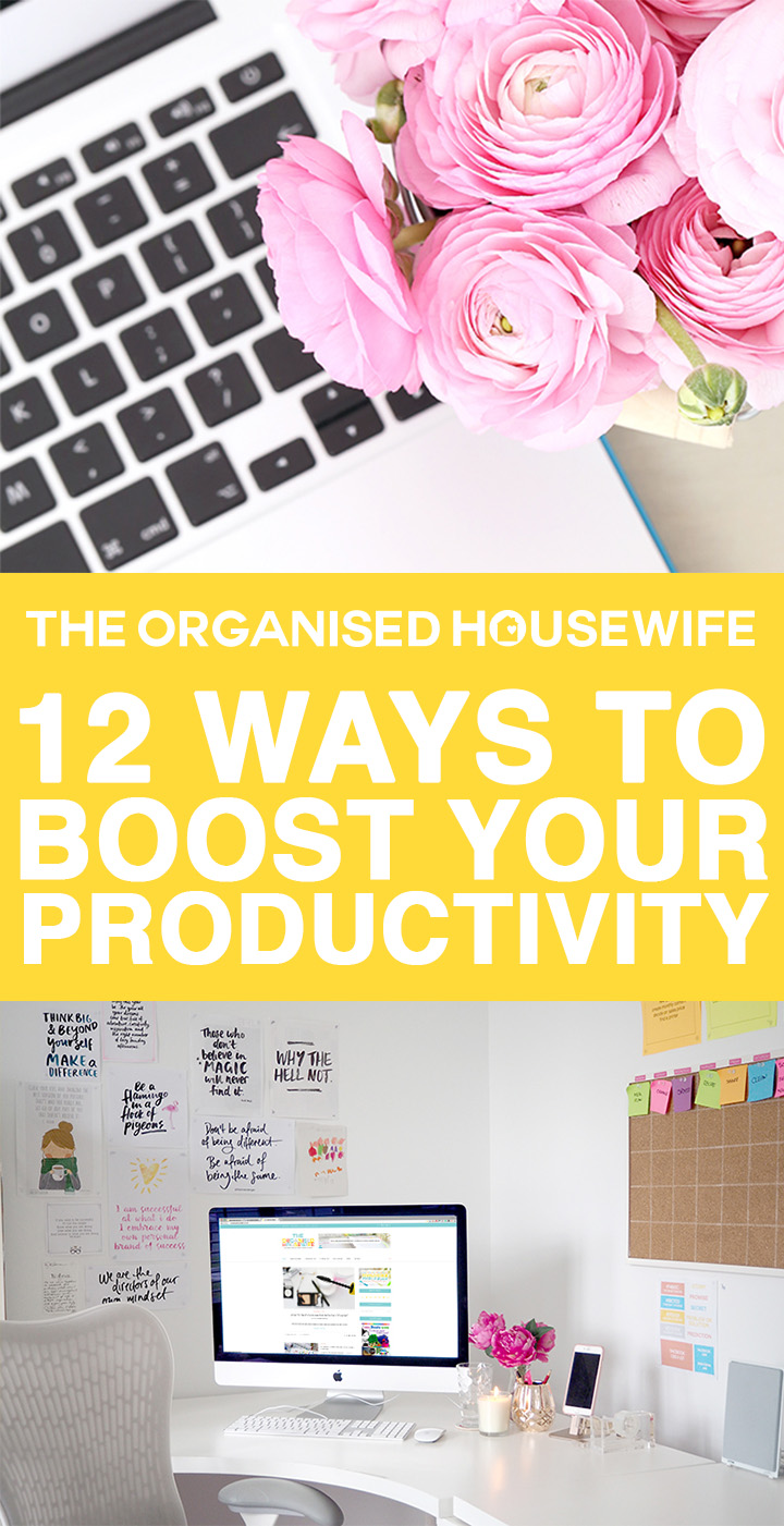 My effective strategies to boost your productivity and increase concentration to get as much as you can done each day.
