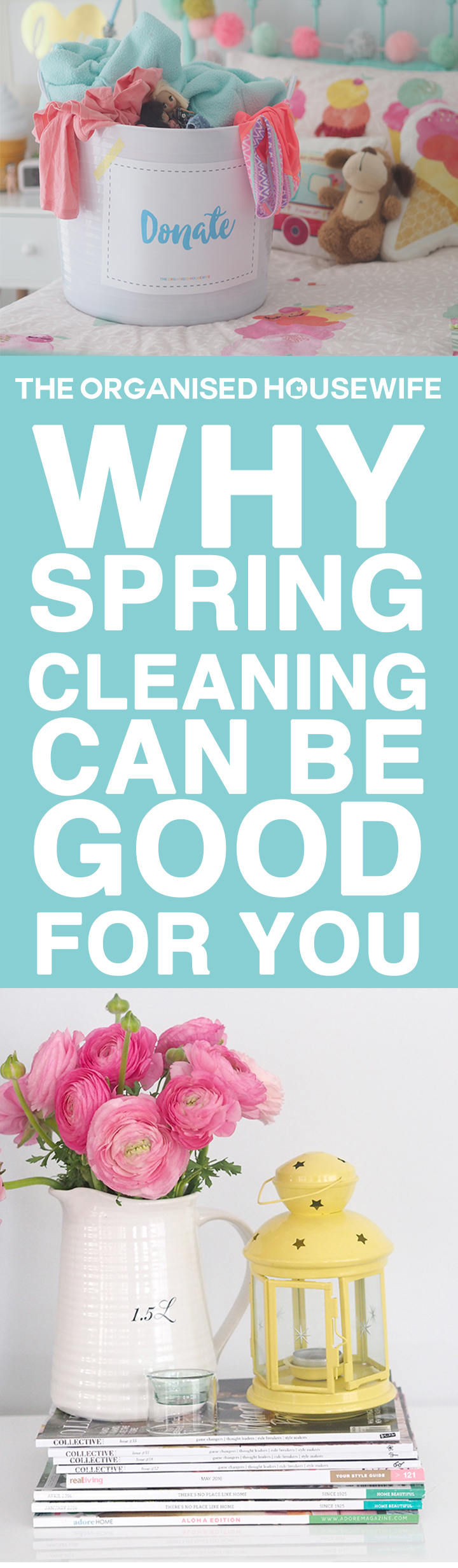 Spring Cleaning... increase space, decrease anxiety and stress, encourage creativity, boost your mood and welcome the new season in a positive and meaningful way.