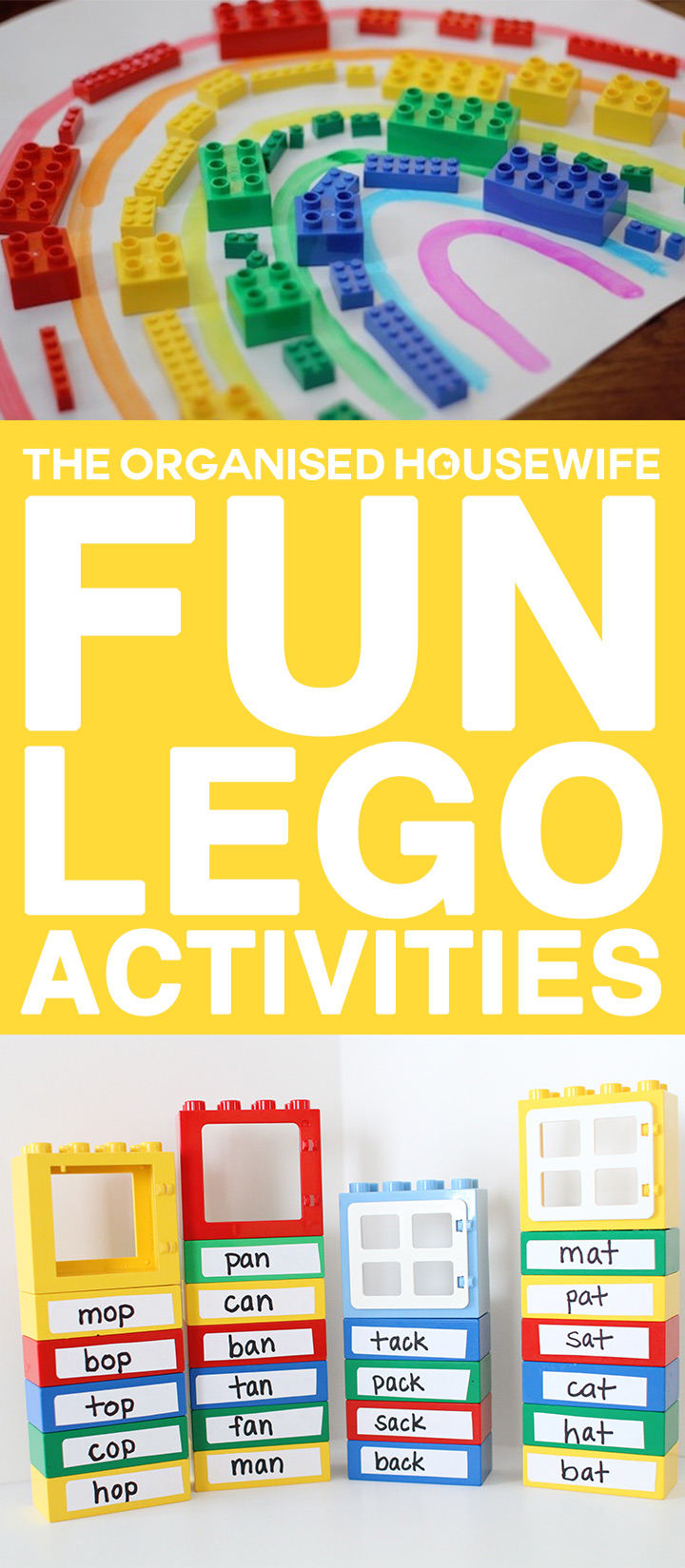 Lego wlll not only does it occupy them for hours on end, but it is also a good way for them to let their imaginations run wild, develop problem-solving skills and enhance their spatial abilities. Here is a collection of some Lego activities that will suit a variety of ages. Your kids will love to build these and you can join in too!