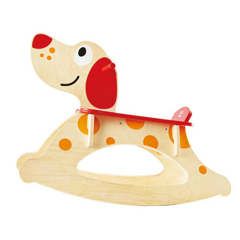 2016 Christmas Gift Idea for Baby - ROCK A LONG PUPPY Styled from gorgeous natural wood with complete attention to detail, this perfectly-balanced ride-on can take kids for a slow-and-steady jog or an exuberant puppy-bounding. Designed with a wide base, the rocking puppy will make children feel safe and confident.
