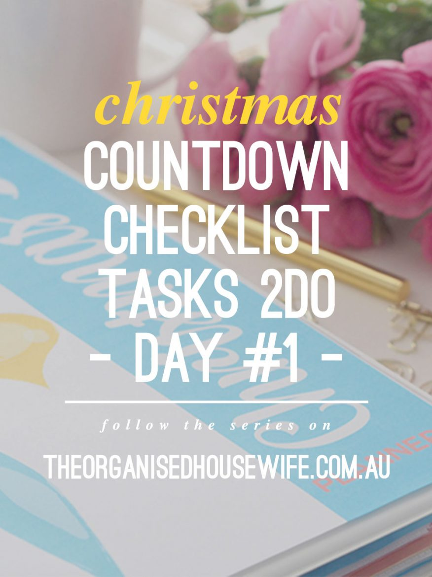 Christmas Preparation Checklist Images – Christmas Preparation Checklist
