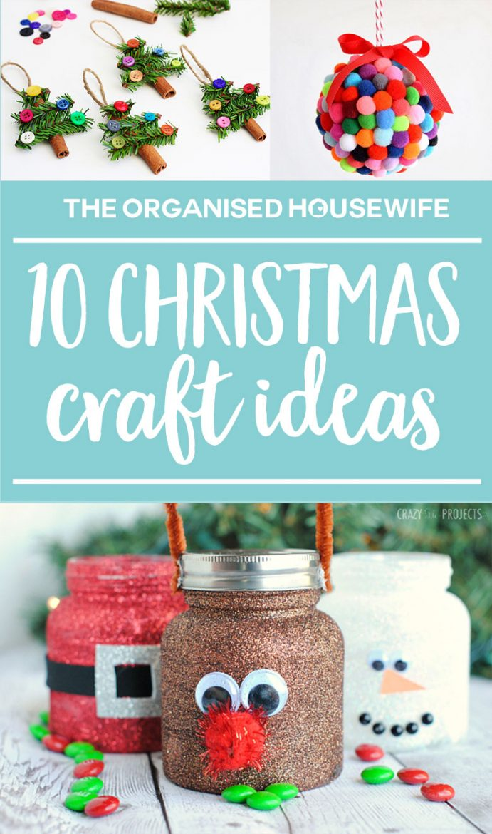Keep the kids busy this Christmas with some of these fun and inventive Christmas craft ideas, which will get them super excited and ready for Christmas. You can help them or leave it up to their imaginations.