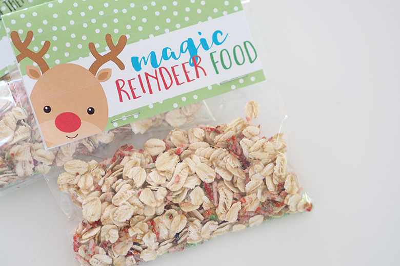 photo about Magic Reindeer Food Printable titled HOW Towards Deliver MAGIC REINDEER Food stuff - The Organised Housewife